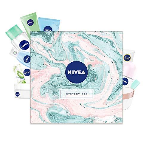 NIVEA Mystery Box Wundertüte Überraschungsbox Geschenkset für Damen in schöner Box, 10-teiliges Pflegeset...