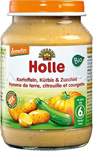 Holle Bio Zucchini, Kürbis & K (6 x 190 gr)