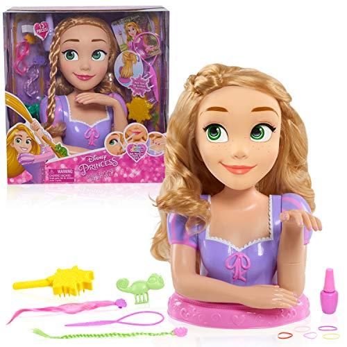 JP Disney Styling JPL87360 Disney Princess Deluxe Rapunzel Styling Head
