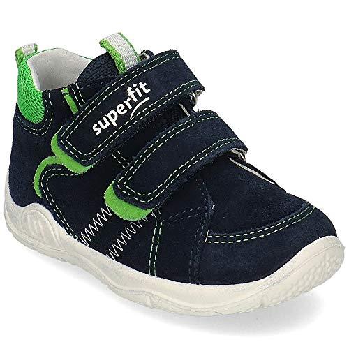 Superfit Jungen Universe Sneaker, Blau (Blau/Grün 80), 24 EU