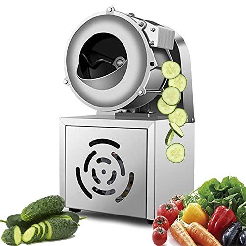 Elektrischer Gemüseschneider 40KG/St. Gemüsehobel Maschine Elektrisch Zerkleinerer Edelstahl...