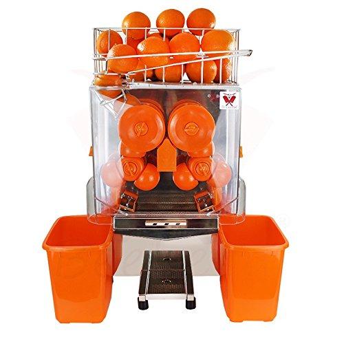 Beeketal 'Essence' Elektrische Profi Orangensaftpresse automatisch, 20 Orangen pro Minute Durchsatz, passend...