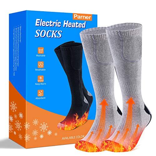 Beheizte Socken, Elektrische Warme Socken, Elektrische Wiederaufladbare Batterie Thermische Socken,...