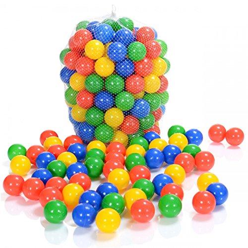 100 Bällebad Spielbälle, Durchmesser 6 cm
