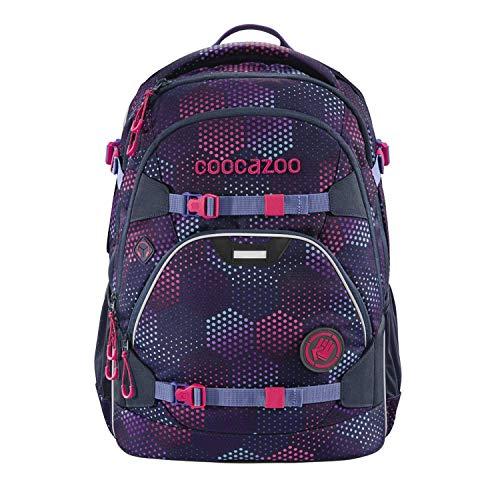 coocazoo Schulrucksack ScaleRale Purple Illusion lila-rosa, ergonomischer Tornister, höhenverstellbar mit...