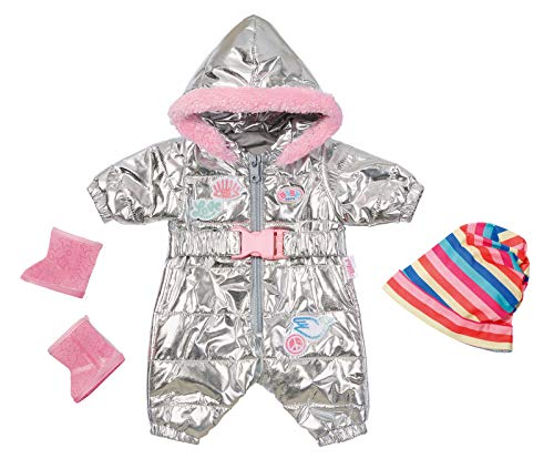 BABY Born 826942 Zapf Creation BABY Born Puppenkleider - Designerkleidung mit Modeaccessoires - Deluxe...