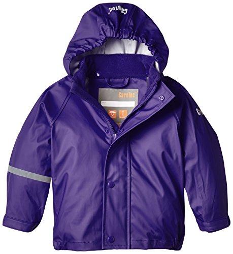 CareTec Kinder wasserdichte Regenjacke,Violett (Purple 633), 116 (6 Jahre)