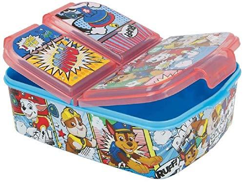 Paw Patrol Kinder Brotdose 3-Fächer, Lunchbox, Sandwichbox, Bentodose: Eiskönigin 2 Anna Elsa, PJ Masks...