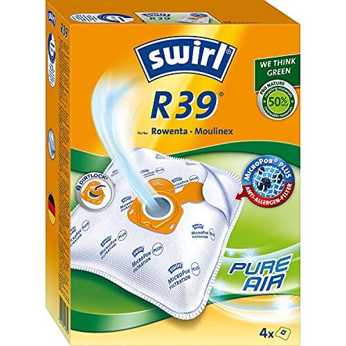 Swirl R 39 MicroPor Plus Staubsaugerbeutel für Rowenta und Moulinex Staubsauger | Dauerhaft hohe Saugleistung...