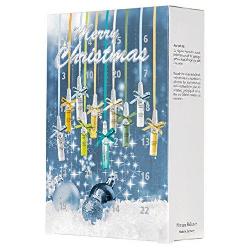 2 Stück 2020 Adventskalender Weihnachten Beauty 24 Ampullen Hyaluron 8 Sorten Serum Kalender Hyaluronsäure...