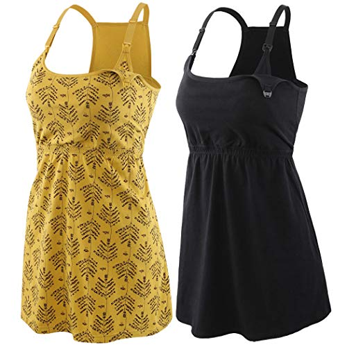 ZUMIY Still-Top, Schwangeres Stillshirt aus Baumwolle- Umstandsmode T-Shirt Damen Still Umstands-Top mit...