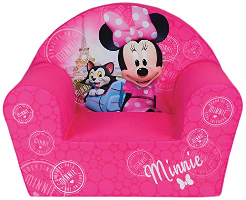 Fun House Disney miinie Paris Sessel für Kinder, Bezug Polyester/Schaumstoff Polyether, 52x 33x 42cm