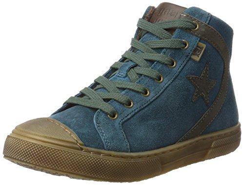 Bisgaard Unisex Schnürschuhe Hohe Sneaker, Grün (1006-2 Petrolio), 37 EU