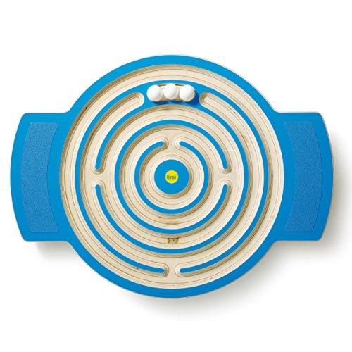 Erzi Trackboard Labyrinth - Balancespiel, Balancierbrett - kombiniert Spiel, Spaß und Bewegung - Ausgestattet...
