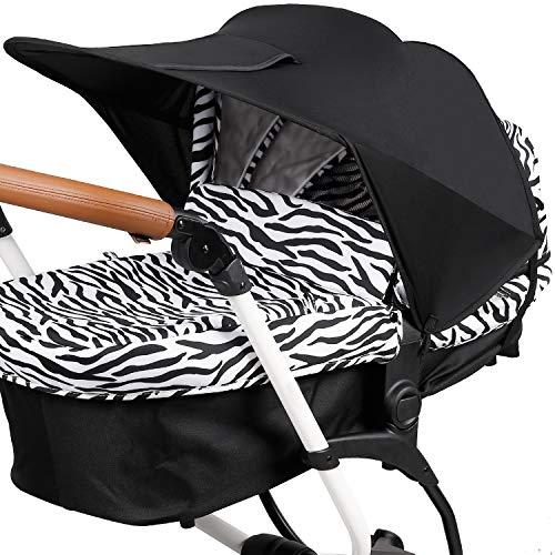 Universal Sonnensegel für Kinderwagen Sonnenschutz mit UV Schutz