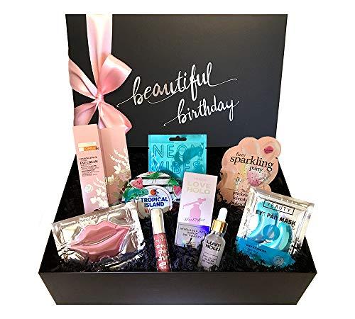 """birthday beautybox """"Glam & Glossy"""" - Luxus-Beauty Box zum Geburtstag für Frauen - Geschenk für Frauen..."""