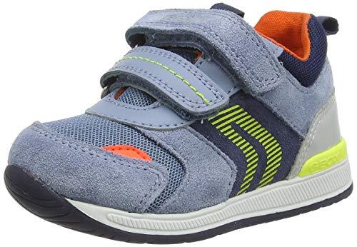 Geox Baby-Jungen B RISHON Boy B First Walker Shoe, DK Sky/Navy, 25 EU