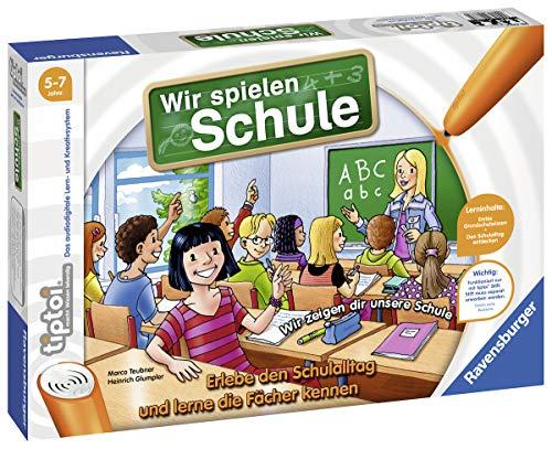 Ravensburger tiptoi Spiel 00733 Wir spielen Schule, Spiel von Ravensburger ab 5 Jahren für 1-4 Spieler,...