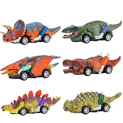 Dreamingbox Spielzeug für Jungen 2-8 Jahre, Dinosaurier Auto Spielzeug ab 3-6 Jahren für Jungen Geschenke...