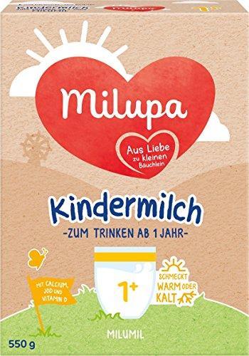milumil Kindermilch ab 1 Jahr, 5er Pack (5 x 550 g)