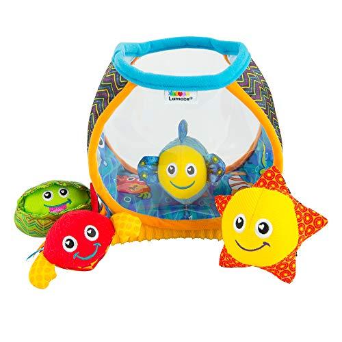 Lamaze Baby Spielzeug 'Mein erstes Aquarium', das hochwertige Kleinkindspielzeug. Das quietschbunte Aquarium...