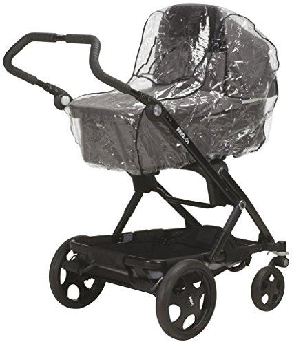 Playshoes Universal Regenverdeck für Kinderwagen, Regenhaube mit Klettverschluss und Gummizug, transparent,...