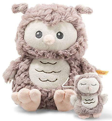 Ollie Eule Spieluhr - 21 cm - Kuscheltier für Babys - Soft Cuddly Friends - weich & nicht waschbar -...