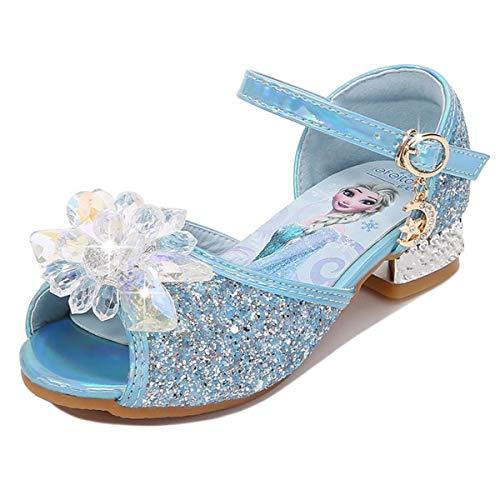AIYIMEI Mädchen Prinzessin Schuhe Kinder Sandalen Partei Glitzer Kristall Schuhe Mädchen Kostüm Zubehör...