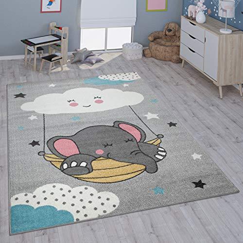 Paco Home Kinderteppich Teppich Kinderzimmer Mädchen Jungs Verschiedene Motive Und Größen, Grösse:120x160...