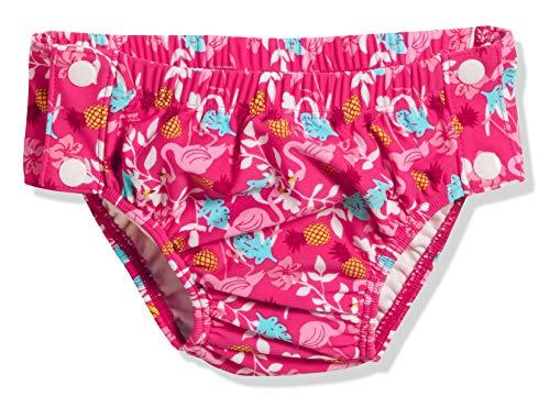 Playshoes Baby UV-Schutz Windelhose Flamingo Zum Knöpfen Schwimmwindel, Türkis (Türkis 15), 74/80