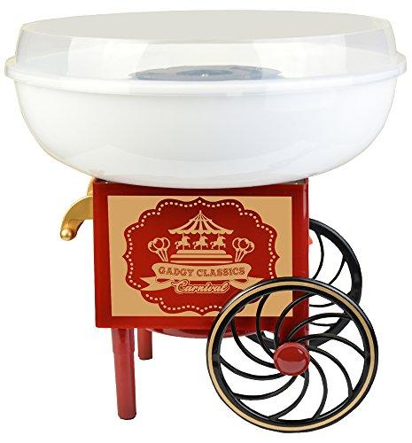 Gadgy ® Zuckerwattemaschine für Zuhause | Cotton Candy Machine | für Zucker oder Harte Süßigkeiten |...