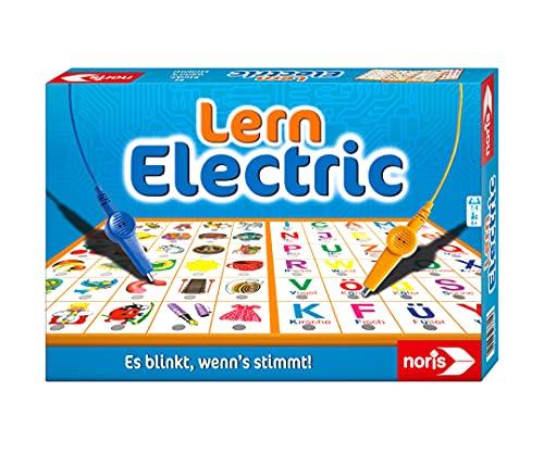 Noris 606013711 Lern Electric Der Lernspiel-Klassiker was passt zusammen, Es blinkt, wenn's stimmt, ab 6...