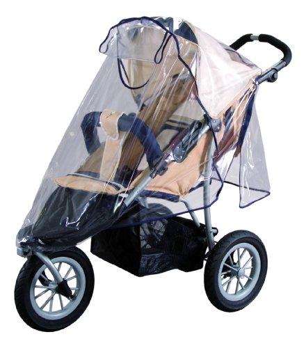 sunnybaby 10083 - Universal Regenverdeck, Regenschutz für Jogger, Sportwagen, Shopper, Buggy mit Dach,...