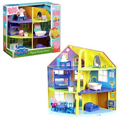 Peppa Pig 06384 Peppa Wutz Family Home Playset