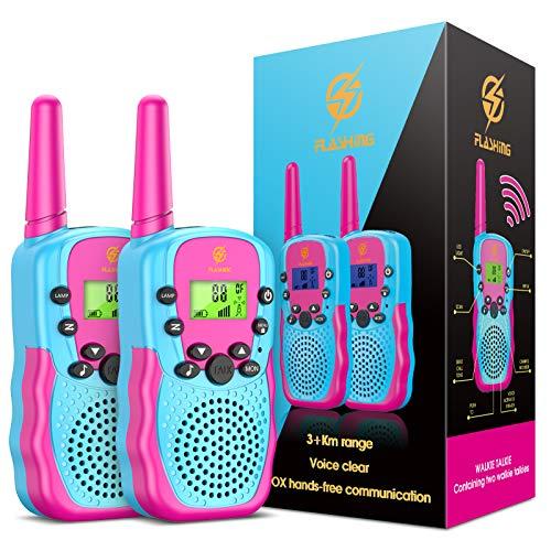 Dreamingbox Walki Talki Kinder ab 3-8 Jahre, Spielzeug ab 3 4 5 6 7 8 9 Jahre für Mädchen Geschenke für...