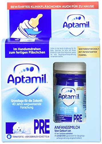 Aptamil  Pronutra ADVANCE PRE 2x90ml, Anfangsmilch von Geburt an, trinkfertig (6 x 2x90ml)