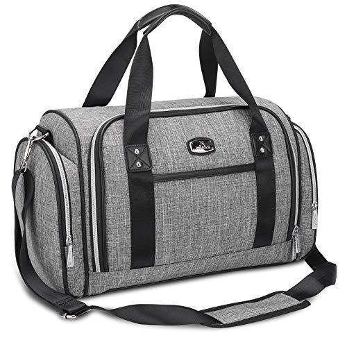 Hafmall Wickeltasche, Fashion Umhängetasche für die Reise, Wasserdicht