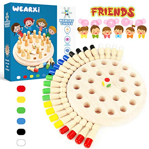 WEARXI Memory Spiele Spielzeug ab 2 3 4 jahren für Draußen Kinder, Outdoor Spiel Spielzeug Kleine Geschenke...