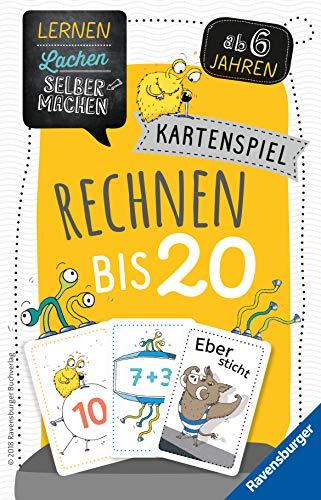 Ravensburger 80349 - Lernen Lachen Selbermachen: Rechnen bis 20, Kinderspiel für 1-5 Spieler, Lernspiel ab 6...