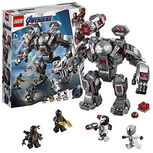 LEGO 76124 Marvel Avengers War Machine Buster Actionfigur, Ant-Man Minifigur, Super Heroes Spielset