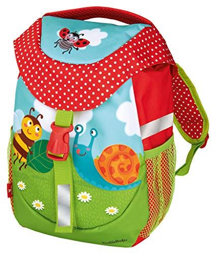 moses. Krabbelkäfer Rucksack für Kinder | Kindergartentasche mit Brustgurt | Für Mädchen und Jungen...