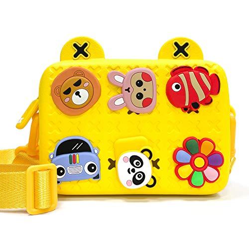 PTN Umhängetasche für Kinder, Mädchen Kindertasche, Brieftasche, Mode kleine Handtaschen, Handtasche mit...