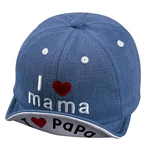Baby Baseball Kappe Stickerei Baseball Cap Kinder Baseballmütze Mädchen Sonnenhut Unisex Snapback Cap...