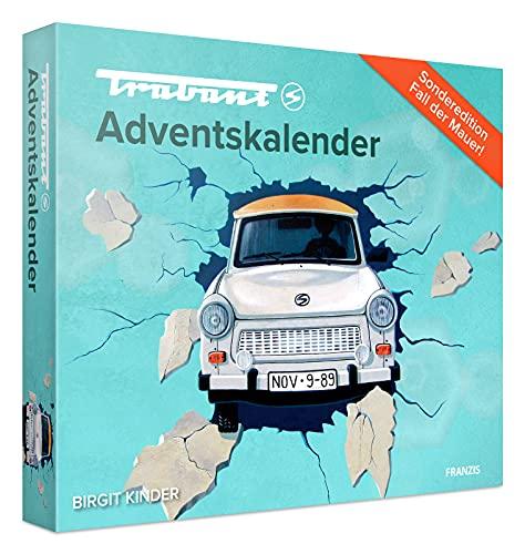 FRANZIS 55106 - Trabant Adventskalender 2021, in 24 Schritten zum Trabant 601 unterm Weihnachtsbaum,...