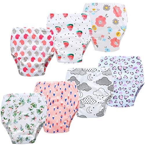 JackLoveBriefs Baby Kleinkind Töpfchen Unterwäsche Töpfchen Trainingshose (2-3 Jahre, 7 Stück, Farbe:...