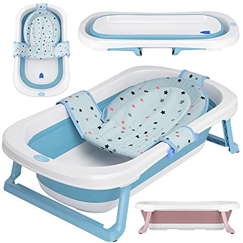 faltbare Babywanne mit 50 Litern Volumen von BEARTOP | inkl. Badewanneneinsatz Baby | ergonomisch & kompakt |...
