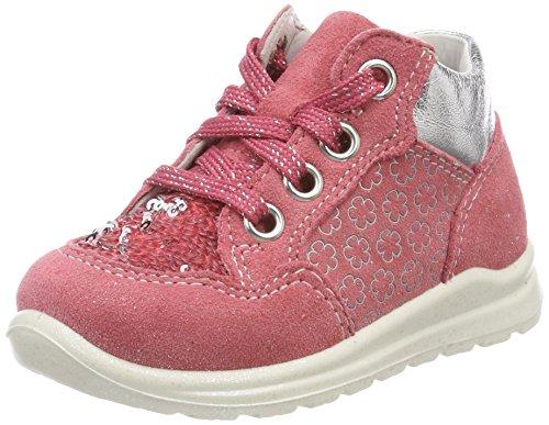 Superfit Baby Mädchen Mel Sneaker, Pink (Rouge Kombi), 20 EU
