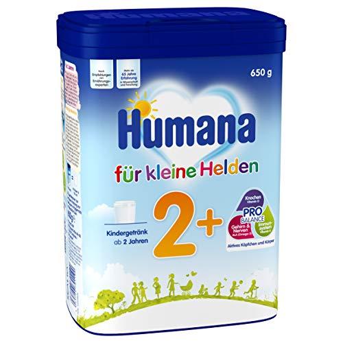 Humana Kindergetränk 2+, Milchpulver zum Anrühren, enthält Calcium, Vitamin A & D, mit altersgerechtem...