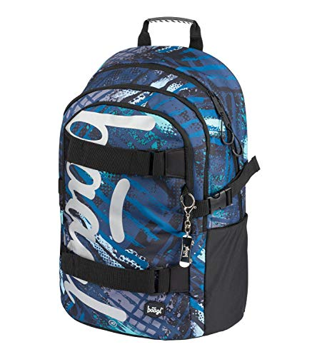 Schulrucksack für Jungen Teenager - Skateboard Rucksack - Kinderrucksack mit Laptopfach und Brustgurt für...