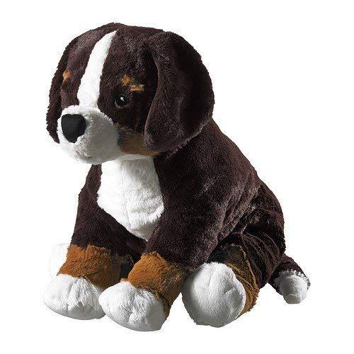 IKEA 4054673250879 Stofftier Hund HOPPIG Plüschtier Welpe-49x19cm groß-sehr...